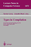 Types in Compilation