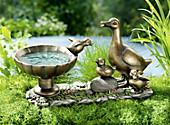 """Vogeltränke """"Entenfamilie"""""""