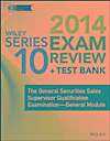 Wiley Series 10 Exam Review 2014 + Test Bank (eBook)